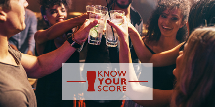 'Know Your Score' this Alcohol Awareness Week