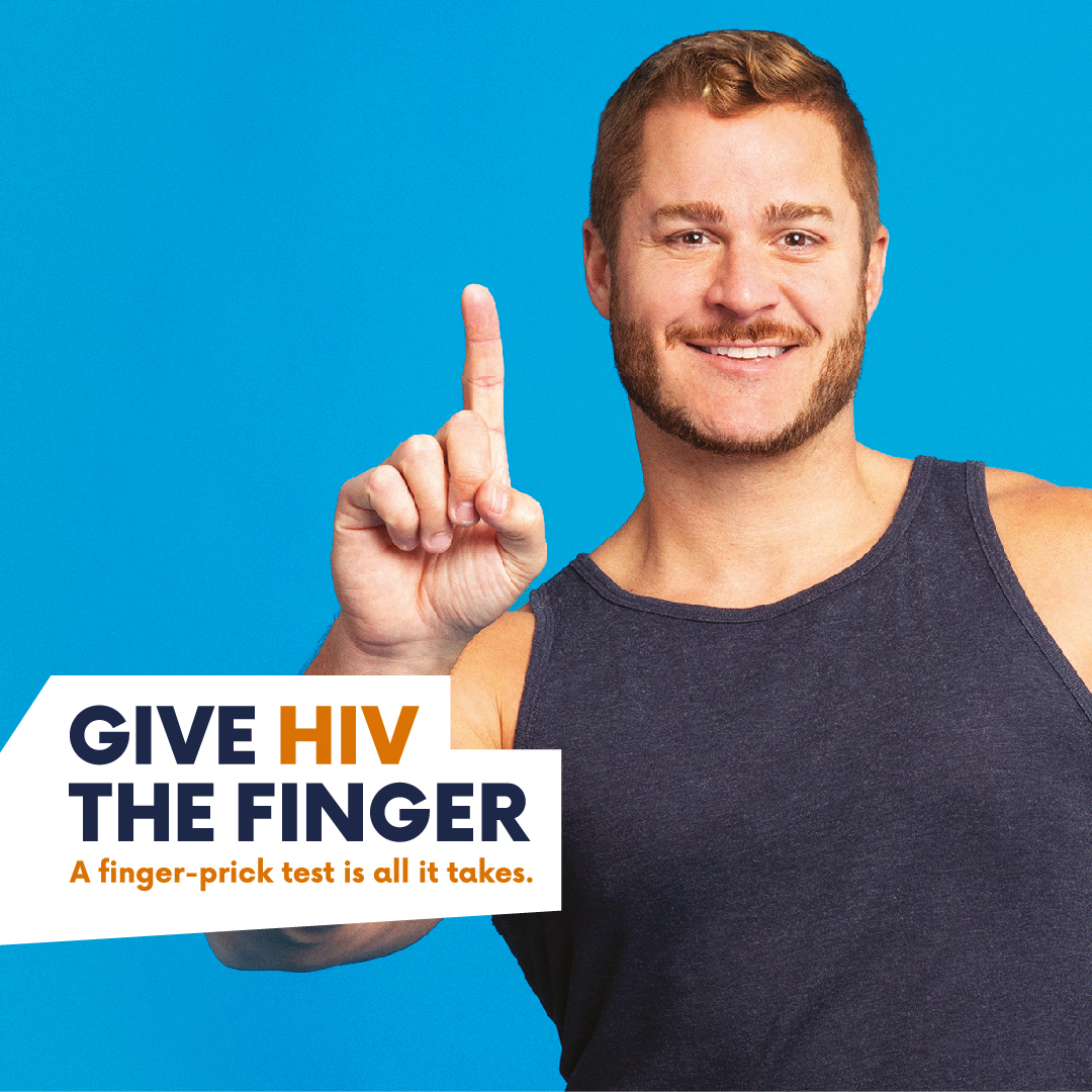 'Give HIV the Finger' Home Test Kits Available in Kent