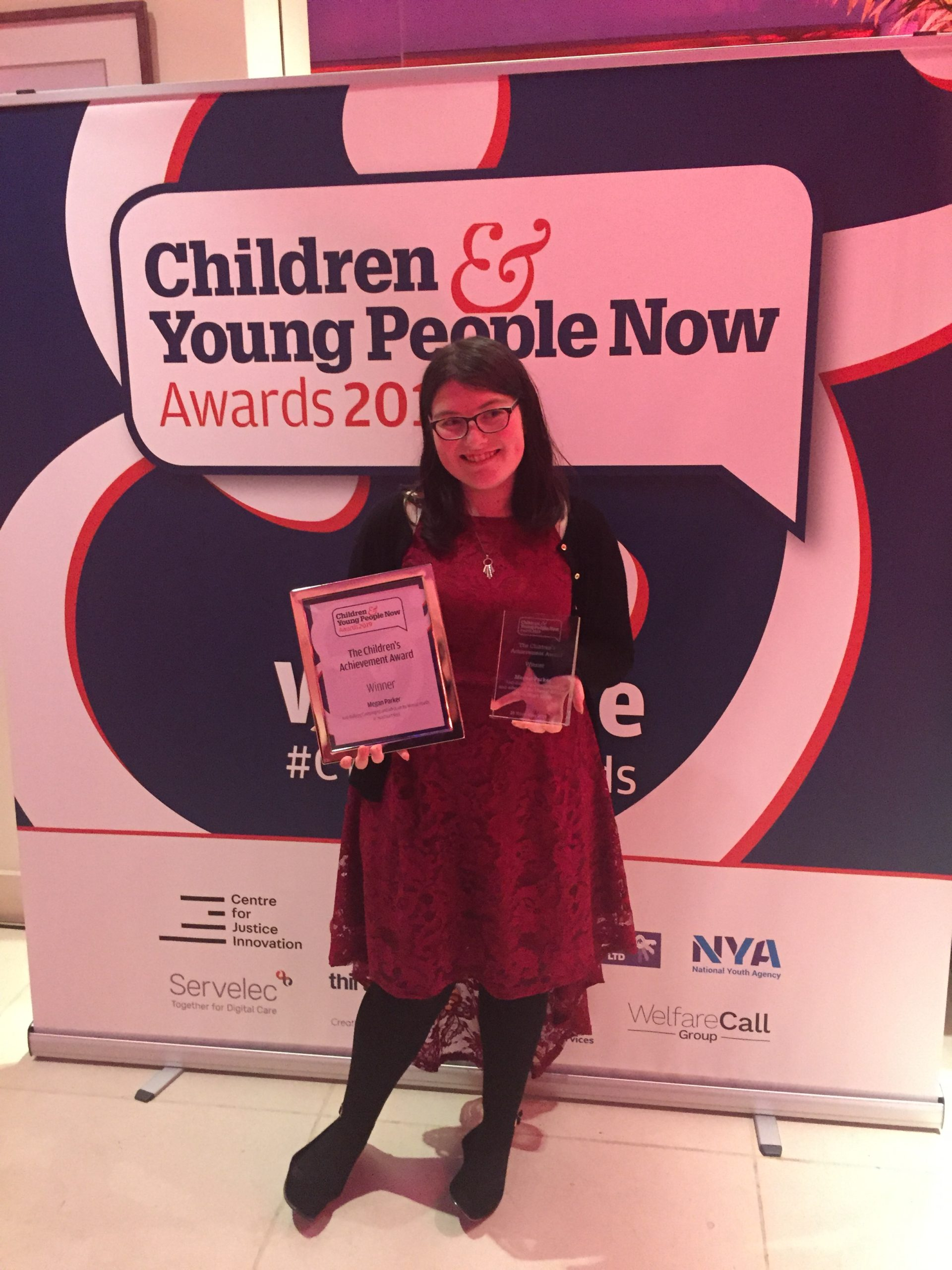 Anti-bullying and mental health advocate scoops national award