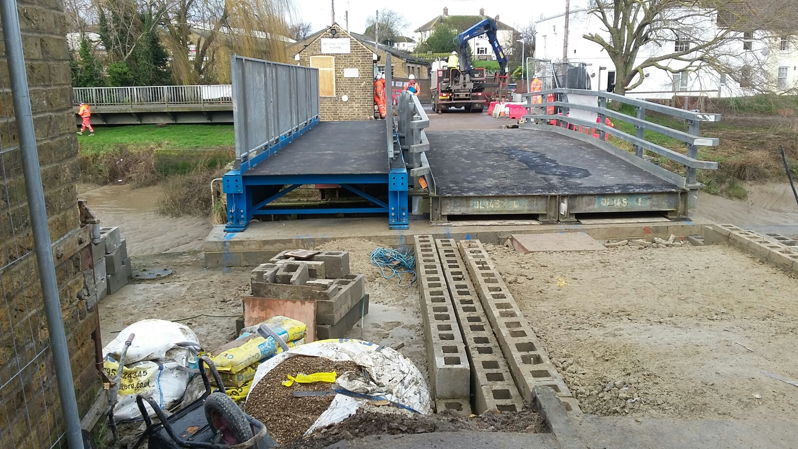 Update on Faversham Creek Bridge