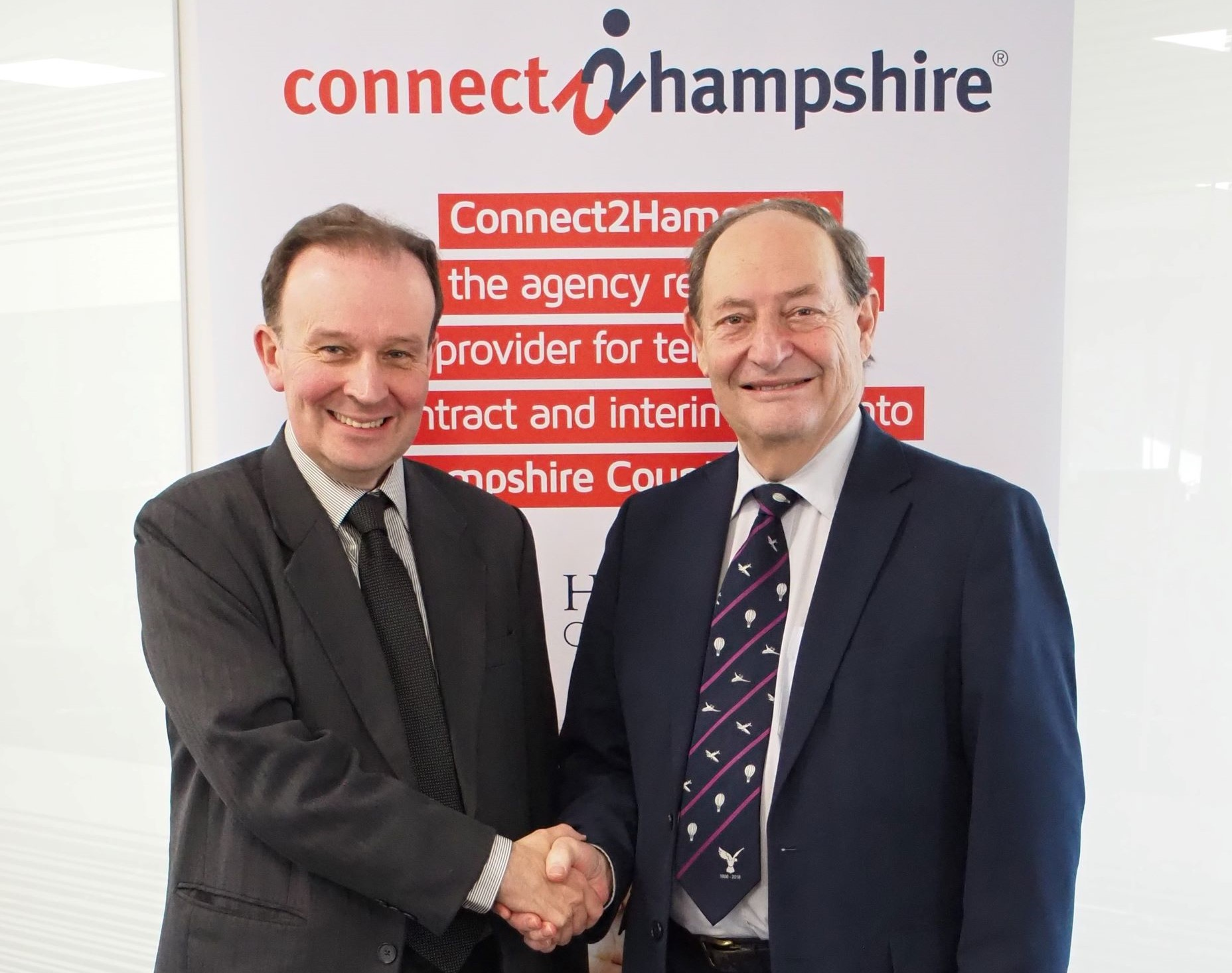 Council Leaders hail the success of pioneering joint venture: Connect2Hampshire