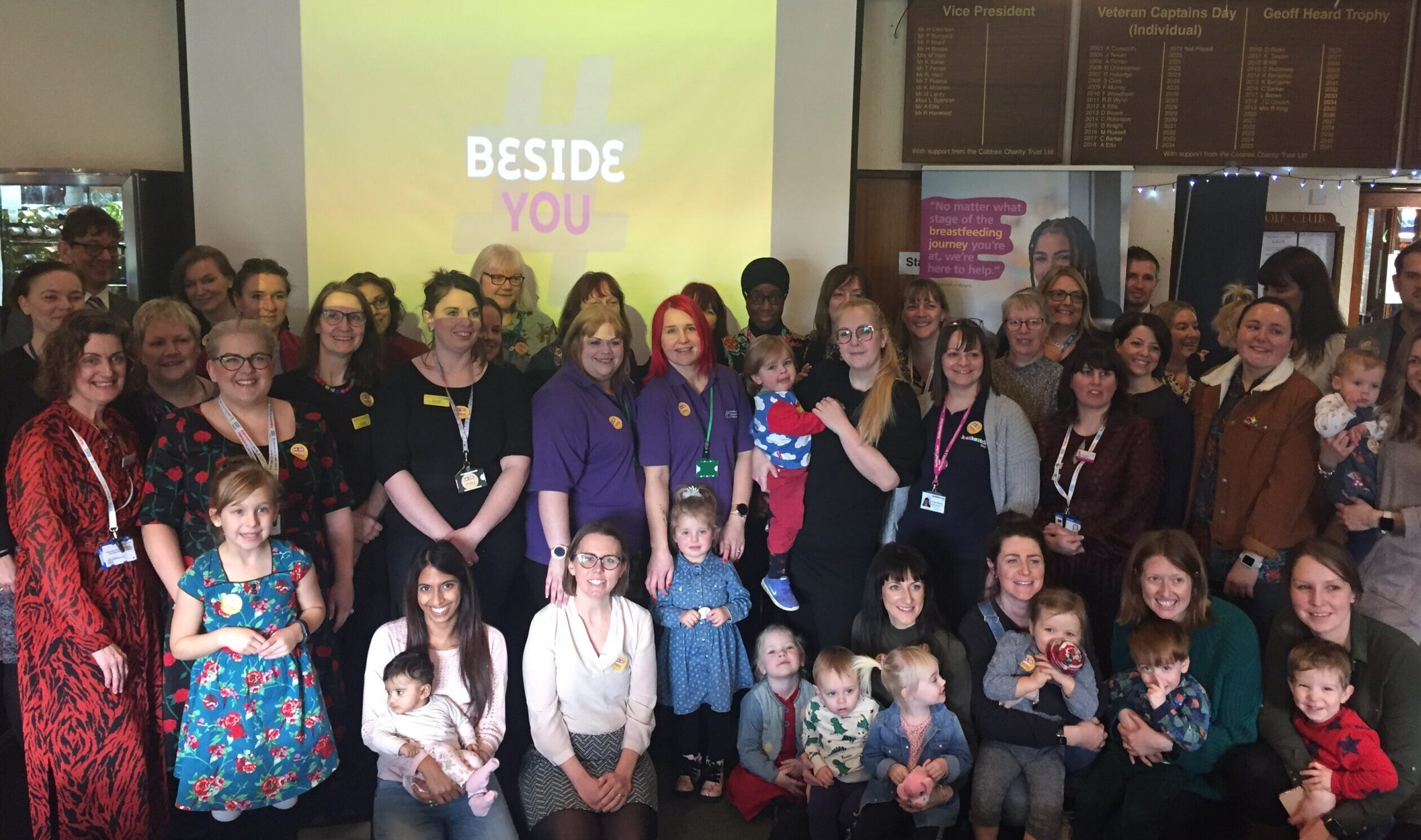 New Kent Support for Breastfeeding Mums Launched on Valentine's Day