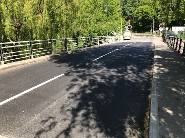 Maintenance work carried out on Grove Ferry Bridge