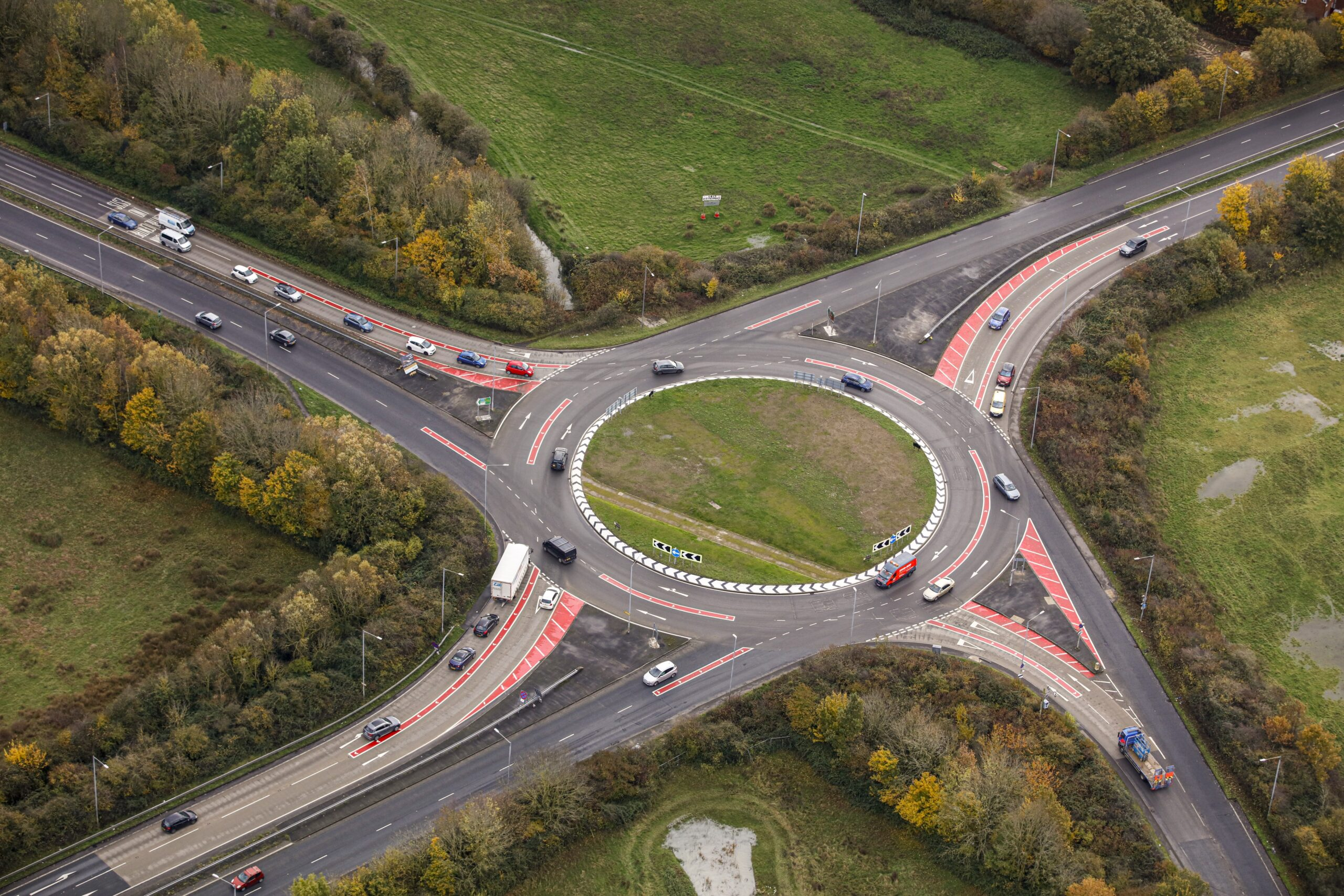 UK-first changes to Ashford's busiest roundabout