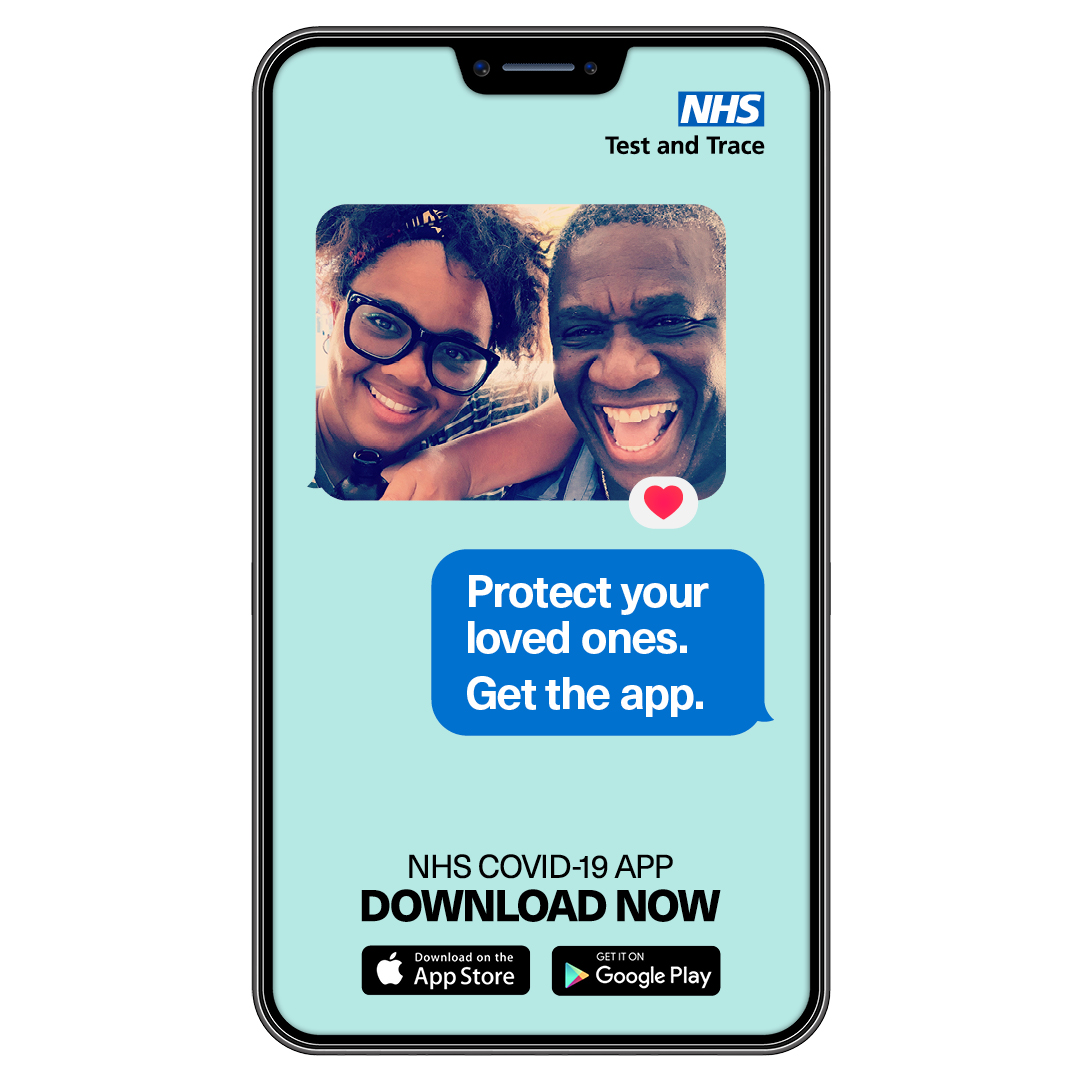 Coronavirus (COVID-19) cases in Kent and Medway - and NHS app info