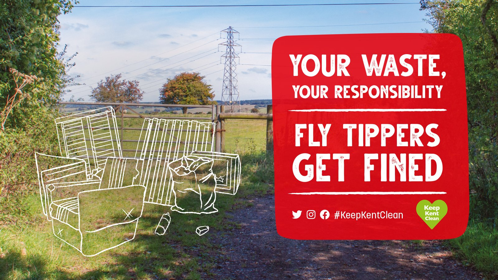 Councils of Kent working in partnership to tackle flytipping