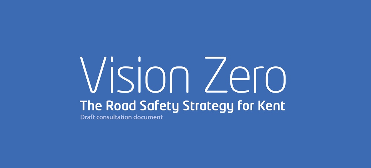 Launch marks Kent County Council's vision for zero road deaths by 2050