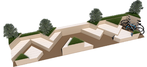 New scheme to install five 'parklets' in Dover begins this weekend