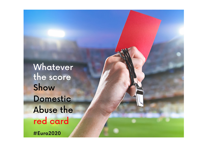 """""""Show Domestic Abuse the Red Card"""" KCC urges Euro 2020 Domestic Abuse awareness"""