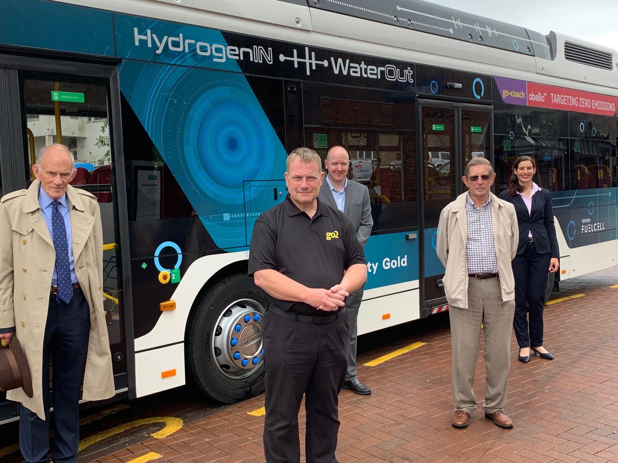 Hydrogen bus trials in Sevenoaks