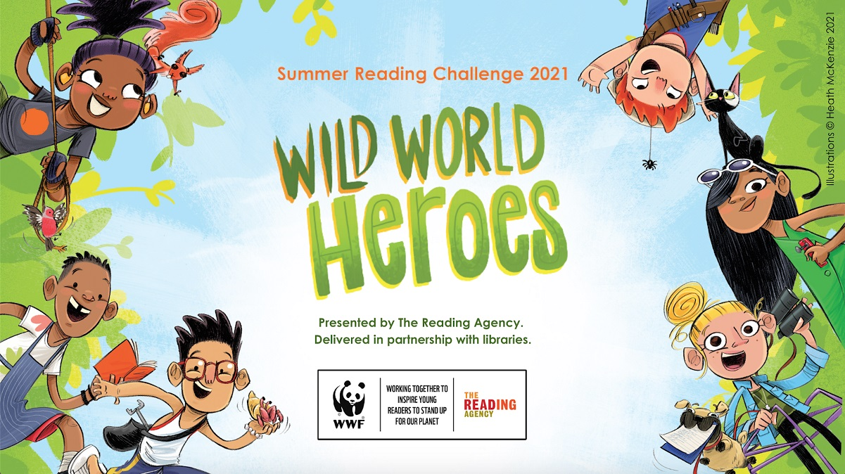 Youngsters challenged to meet the Wild World Heroes