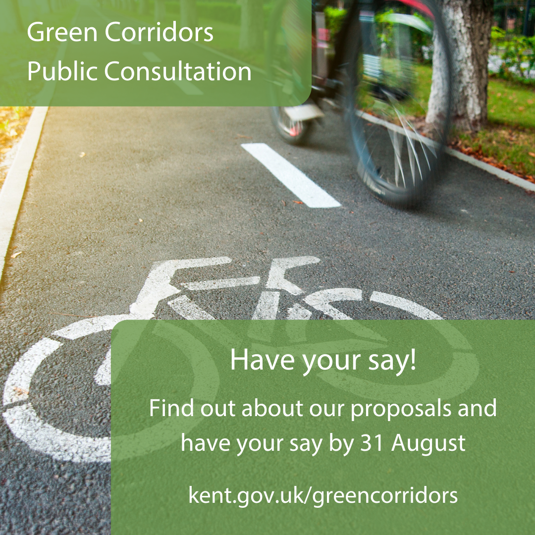 Consultation into 8 walking & cycling schemes across Ebbsfleet, Greenhithe, and Northfleet starts today